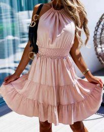 Φόρεμα - κώδ. 9949 - πούδρα