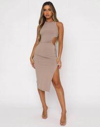 Φόρεμα - κώδ. 11937 - μπεζ