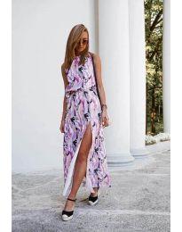 Φόρεμα - κώδ. 6511 - πολύχρωμο