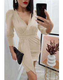 Φόρεμα - κώδ. 0515 - μπεζ