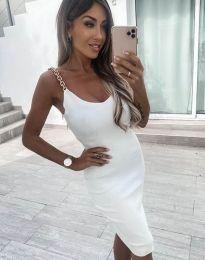 Φόρεμα - κώδ. 2765 - λευκό