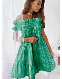 Φόρεμα - κώδ. 0299 - σκούρο πράσινο