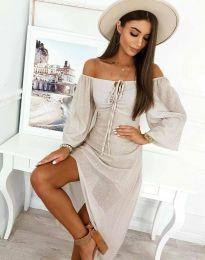 Φόρεμα - κώδ. 2734 - λευκό