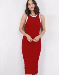 Φόρεμα - κώδ. 5273 - κόκκινο