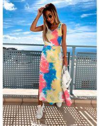 Φόρεμα - κώδ. 1265 - πολύχρωμο