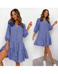 Φόρεμα - κώδ. 965 - μπλε