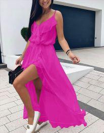 Φόρεμα - κώδ. 6432 - φουξια