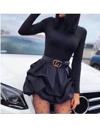 Φόρεμα - κώδ. 8380 - μαύρο