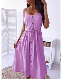 Φόρεμα - κώδ. 5057 - μωβ