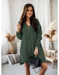Φόρεμα - κώδ. 6113 Λαδί