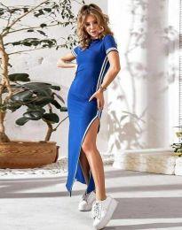 Φόρεμα - κώδ. 0715 - 1 - μπλε