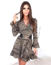 Φόρεμα - κώδ. 2726 - πολύχρωμο