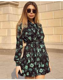 Φόρεμα - κώδ. 6555 - 3 - πολύχρωμο