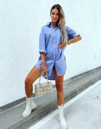 Φόρεμα - κώδ. 7589 - γαλάζιο