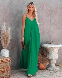 Φόρεμα - κώδ. 4673 - πράσινο