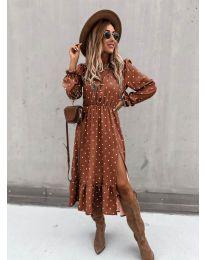 Φόρεμα - κώδ. 8866 - 3 - πολύχρωμο