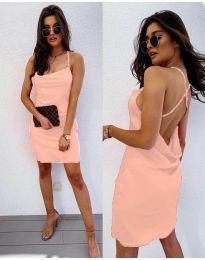 Φόρεμα - κώδ. 672 - ροζ