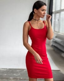Φόρεμα - κώδ. 11794 - κόκκινο