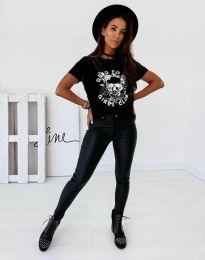 Κοντομάνικο μπλουζάκι - κώδ. 2527 - μαύρο