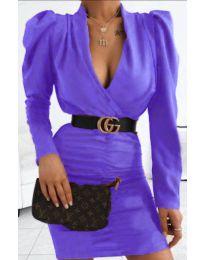 Φόρεμα - κώδ. 953 - μωβ