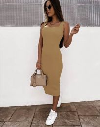 Φόρεμα - κώδ. 5964 - μπεζ