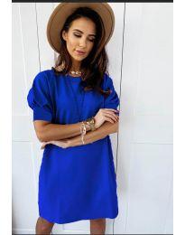 Φόρεμα - κώδ. 9868 - μπλε