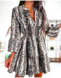 Φόρεμα - κώδ. 4250 - πολύχρωμο