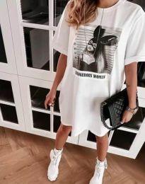 Φόρεμα - κώδ. 2919 - λευκό