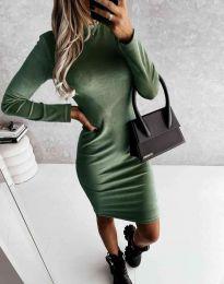 Φόρεμα - κώδ. 9368 - λαδί