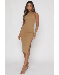 Φόρεμα - κώδ. 11939 - καπουτσίνο