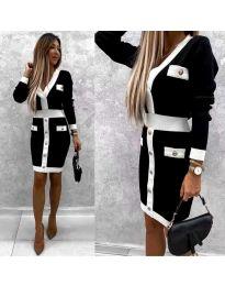 Φόρεμα - κώδ. 7574 - μαύρο