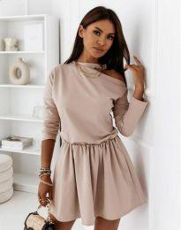 Φόρεμα - κώδ. 1534 - μπεζ