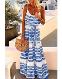 Φόρεμα - κώδ. 621 - μπλε