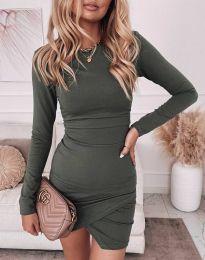 Φόρεμα - κώδ. 2835 - λαδί