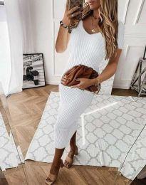 Φόρεμα - κώδ. 0714 - 3 - λευκό