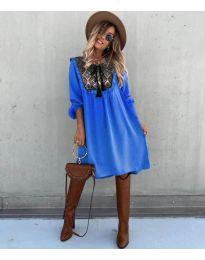 Φόρεμα - κώδ. 958 - μπλε