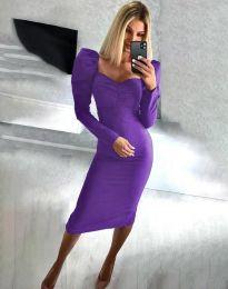 Φόρεμα - κώδ. 3865 - μωβ