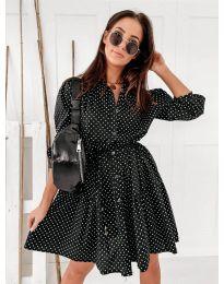 Φόρεμα - κώδ. 5557 - μαύρο