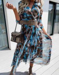 Φόρεμα - κώδ. 8250 - πολύχρωμο