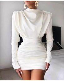 Φόρεμα - κώδ. 8257 - λευκό