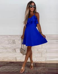 Φόρεμα - κώδ. 2739 - σκούρο μπλε
