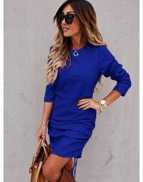 Φόρεμα - κώδ. 8293 - σκούρο μπλε