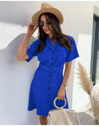 Φόρεμα - κώδ. 742 - μπλε