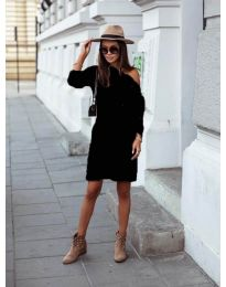 Φόρεμα - κώδ. 8171 - μαύρο