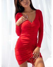 Φόρεμα - κώδ. 12069 - κόκκινο