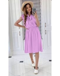 Φόρεμα - κώδ. 701 - ανοιχτό μωβ
