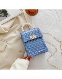 Τσάντα - κώδ. B528 - γαλάζιο
