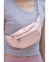 Τσάντα - κώδ. 491 - ανοιχτό ροζ