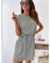 Φόρεμα - κώδ. 6634 - πράσινο