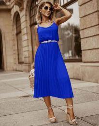 Φόρεμα - κώδ. 1249 - μπλε